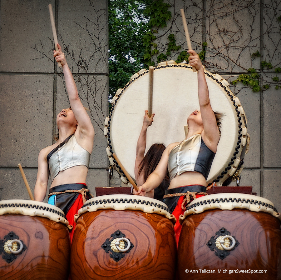 The Taiko Drummers Performance was great!